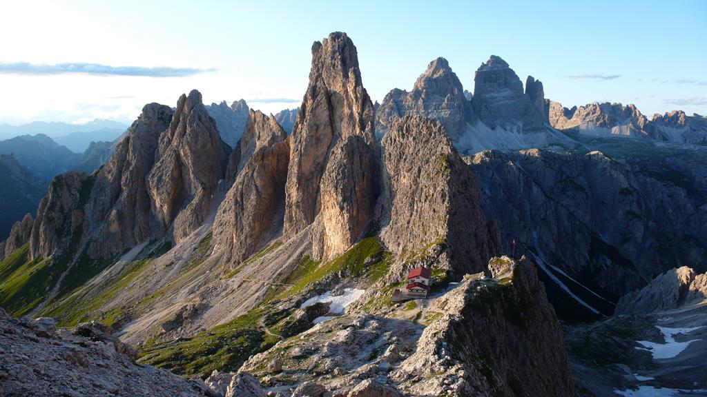 Dolomiten Höhenweg 9 - Rifugio Fonda Savio