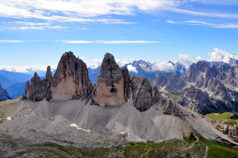 Dolomiten Höhenweg 3 Drei Zinnen