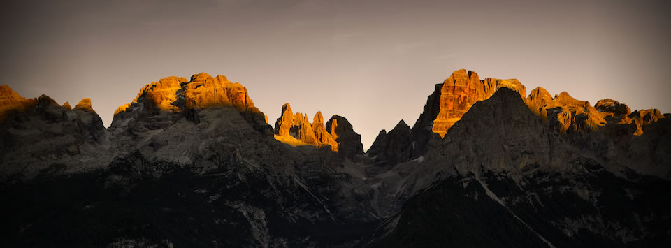 Dolomiten Höhenweg 10 - Blick von der Tuckethütte